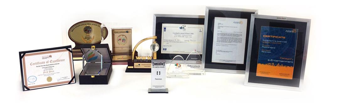 international awards paravision