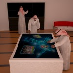 largest interactive multitouch table 84 4k