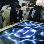 multi user multitouch table 103