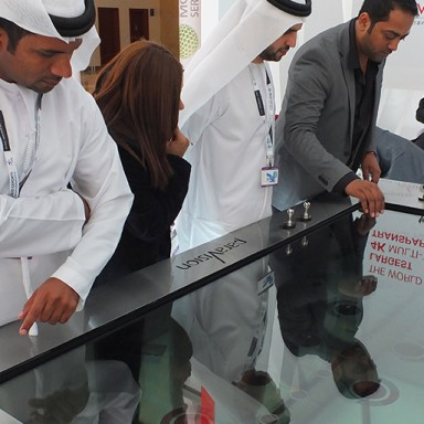 transparent screens full integrated solution 4k multitouch