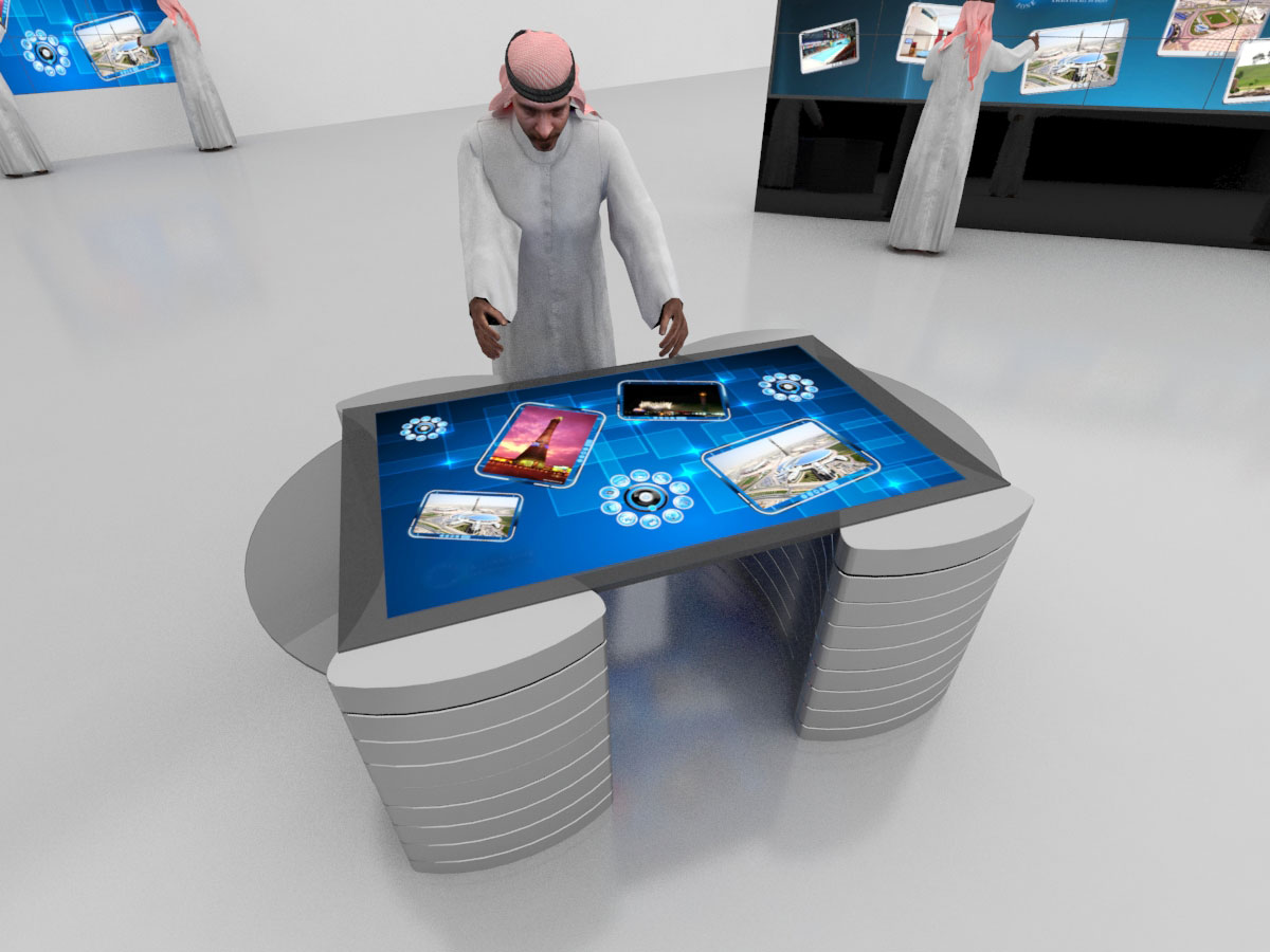 Multi Touch Table 42 Inches